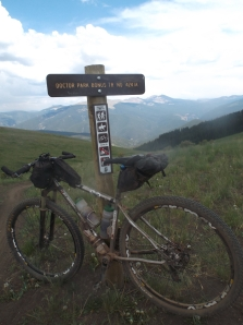 last trail on today's ride ended up doing 79 miles, 9500' of climbing and 9.5 hours in the saddle