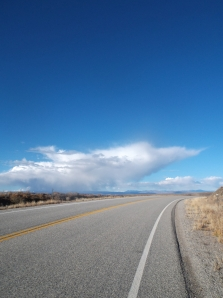 Topping out on 9 Mile, Hwy 149, last climb of the day, Yeah!